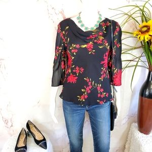 Nordstrom Donna Ricco New York gorgeous blouse
